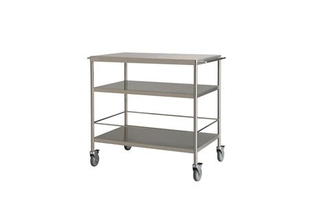 Flytta Kitchen Trolley by 10 Easy Pieces Industrial Style Potting Benches Gardenista