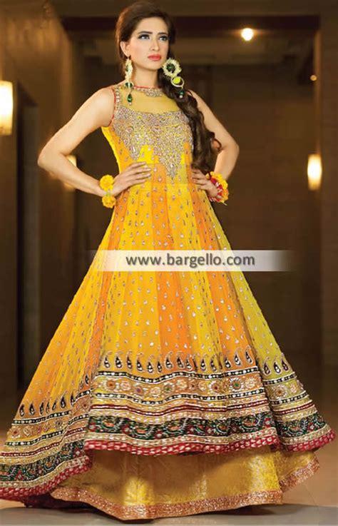 pakistani mehndi dresses  mehndi event mehndi dresses