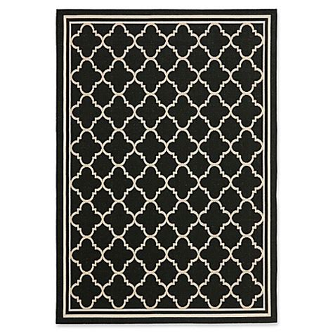 quatrefoil rug target safavieh courtyard miniature quatrefoil indoor outdoor rug bed bath beyond