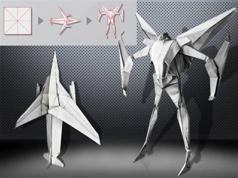 Origami Transformer - pin by origami on random