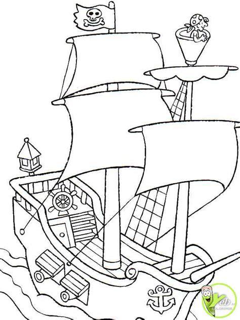 dessin bateau pirate des caraibes coloriages black pearl