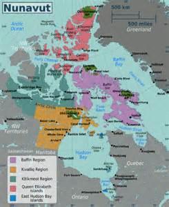map of canada nunavut talk nunavut travel guide at wikivoyage