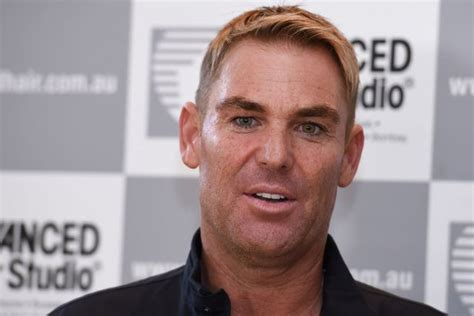 shane warne hair shane warne is that you cricket legend transforms with