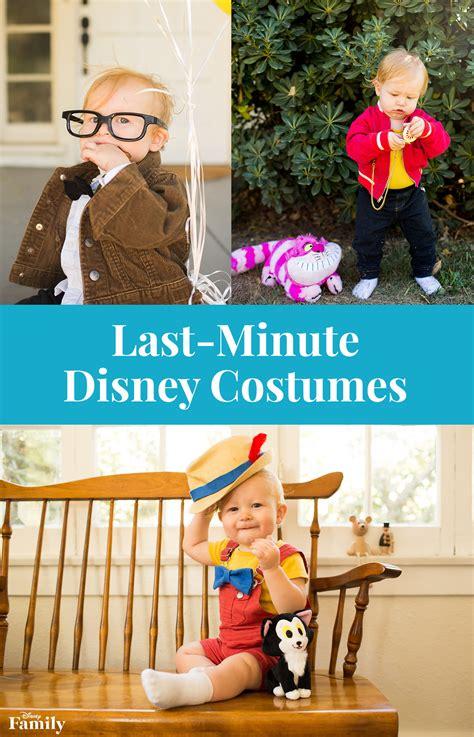 minute disney costume ideas