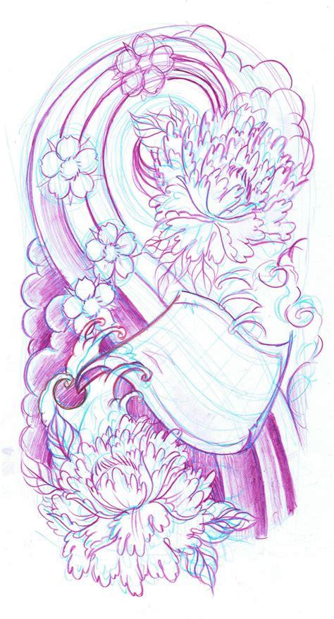 oriental tattoo flash art japanese sleeve sketch by wildthingstattoo on deviantart