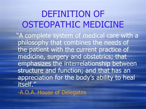 house of delegates definition osteopathy video