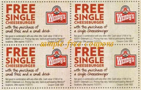 printable coupons for fast food restaurants 2014 coupons for wendys 2017 2018 best cars reviews