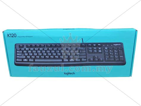 Logitech Usb Keyboard K120 Black 60hdyz logitech black usb keyboard k120 fauzul enterprise