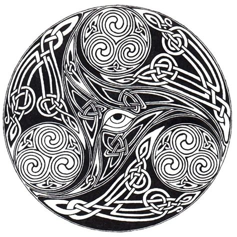 Knot Designs - celtic eye knot by ppunker on deviantart