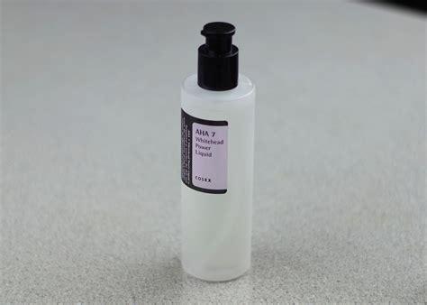 Cosrx Aha 7 Whitehead Power Liquid 10ml cosrx aha 7 whitehead power liquid review koja