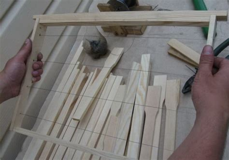 Handmade Photo Frames Procedure - beekeeping