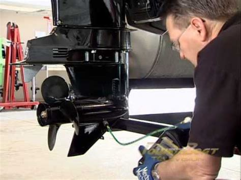 how to winterize a power boat how to winterize a 4 stroke ob powerboat tv youtube