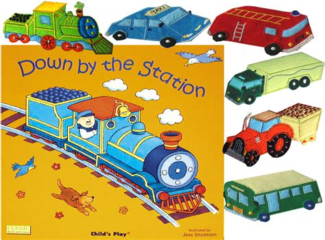 the station books child s play