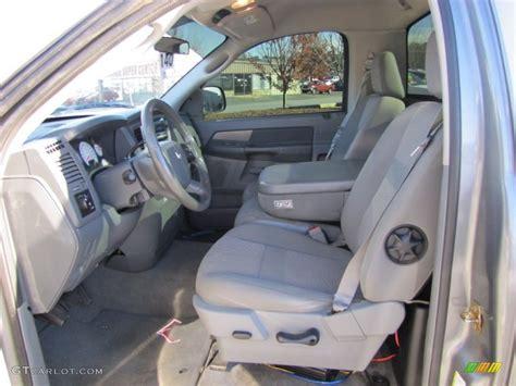 2006 Dodge Ram 1500 Interior by Medium Slate Gray Interior 2006 Dodge Ram 1500 Sport