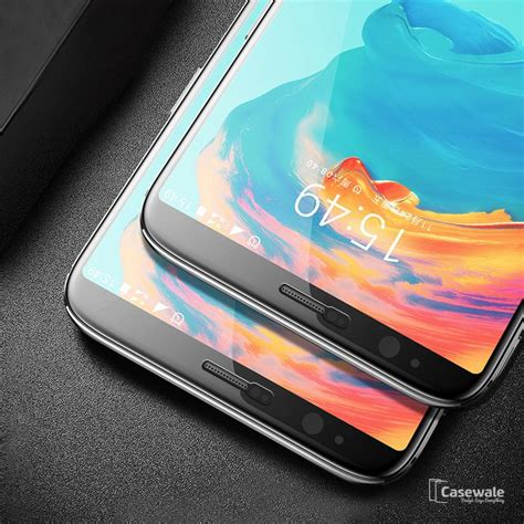 Temper Glas Oppo F1 5d curved glass screen protector for oneplus 5t casewale