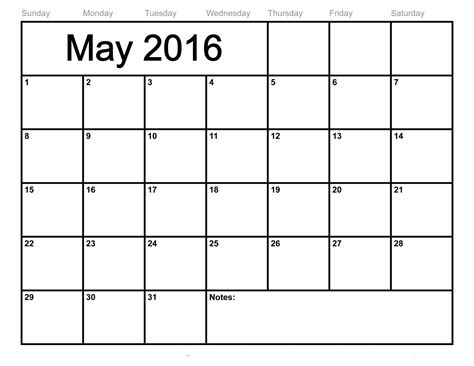 Blank Calendars To Print 2016 Blank Calendars To Print Activity Shelter