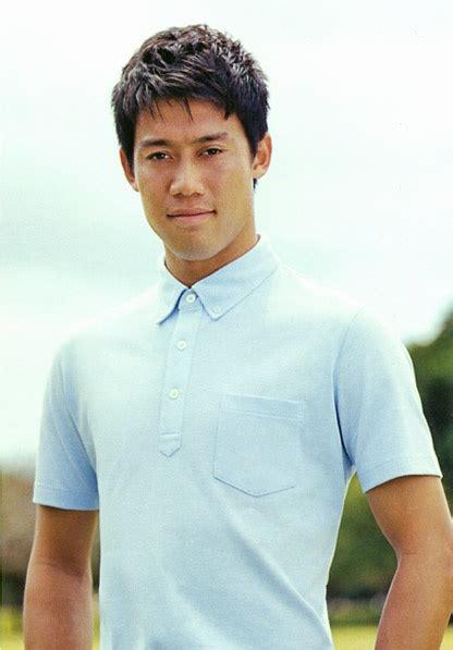Tshirt Player Desain Nvf Caroll kei nishikori japanese pro tennis player uniqlo polo shirt catalog nishikori
