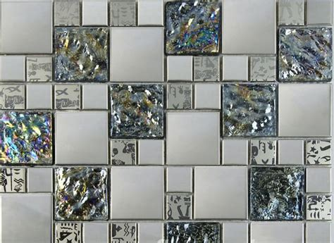 Metal tiles modern curve adding contemporary flair to interior design