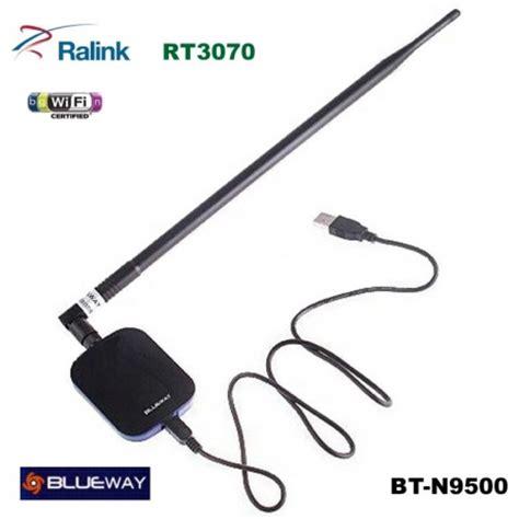 Antena Wifi Usb usb wifi n 2w antena 18dbi blueway 150mbps bt n9500 rt3070