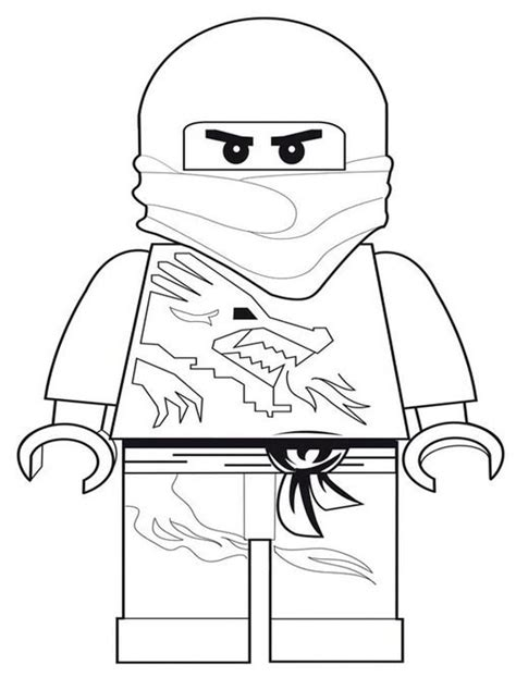 free ninjago lion coloring pages
