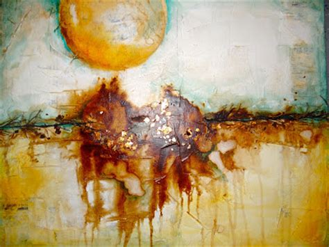 painting yellow workshop wabi sabi inspiration cold wax and more pam carriker