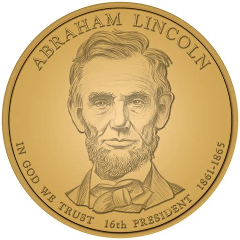 abraham lincoln gold coin 2010 abraham lincoln presidential 1 coin us coins