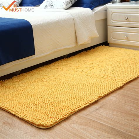 rug and carpet stores aliexpress buy 50x180cm 19 quot x70 quot microfiber chenille rug and carpet for bedroom soft and