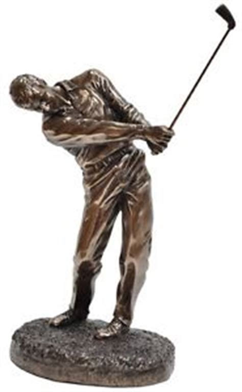 golf statues home decorating veronese bronze figurine sport golf golfer home decor gift