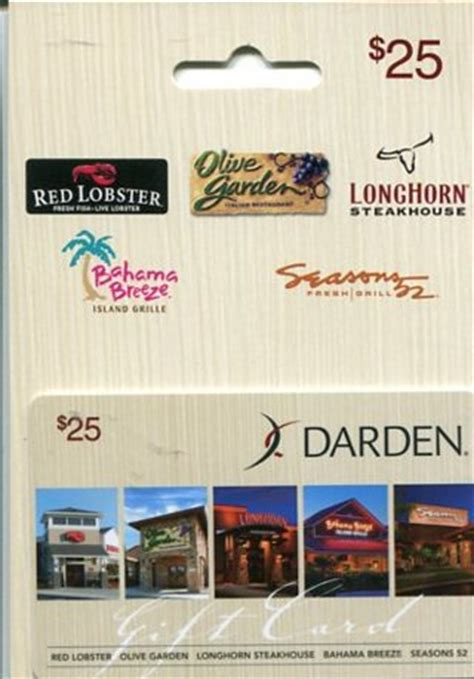 Longhorn Holiday Gift Cards - can you use olive garden gift card at red lobster garden ftempo