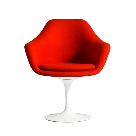 Tulip Armchair by Saarinen Upholstered Tulip Armchair Replica Dining