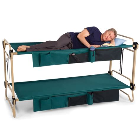 adult bed the foldaway adult bunk beds hammacher schlemmer