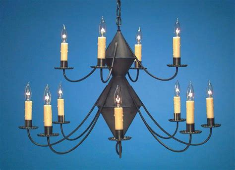 Tin Chandeliers Reproduction Colonial Tin Chandeliers Chandelier Hammerworks