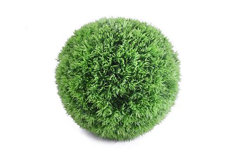 artificial topiary grass balls artificial grass hanging topiary 30cm the