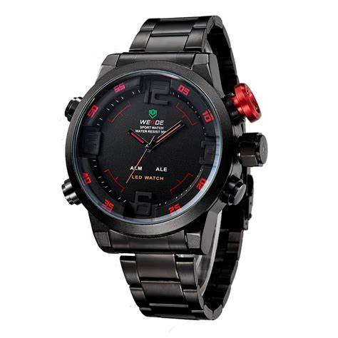 Weide Japan Quartz Miyota Led Sports 30m Wh2309 4 weide japan quartz miyota led sports 30m