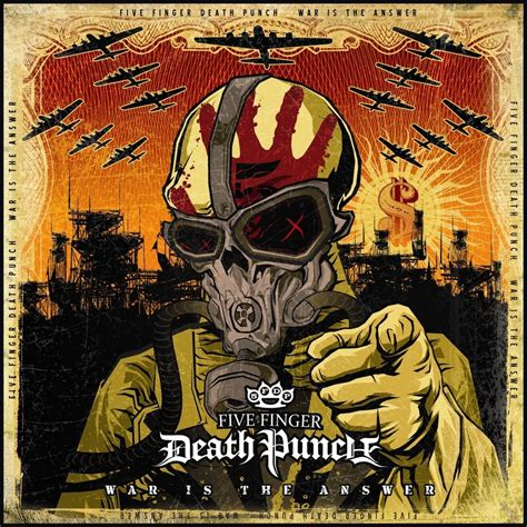 five finger death punch covers war is the answer by five finger death punch music charts