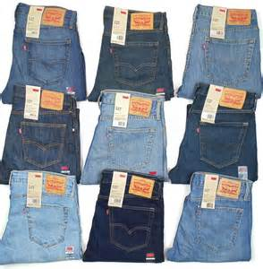 colored levi levis 527 mens slim fit boot cut many sizes many