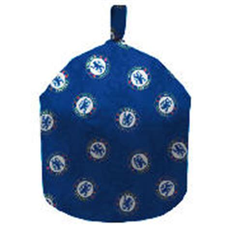 chelsea fc bean bag chair official chelsea fc bean bag made from 100 cotton zip
