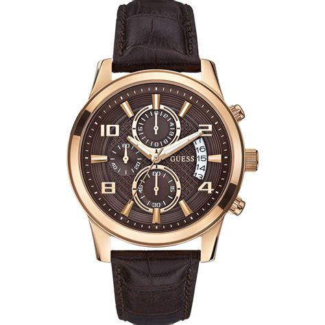 Guess 3chrono Gold guess w0076g4 s exec gold chronograph