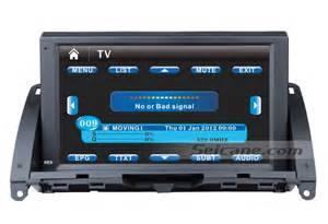 Mercedes Gps Navigation System 8 Inch Touch Screen 2007 2011 Mercedes C Class W204
