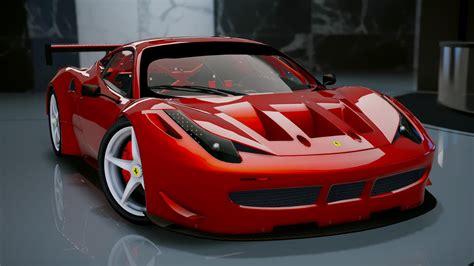 Ferrari 453 Italia by Ferrari 458 Italia Gt2 Add On Tuning Gta5 Mods
