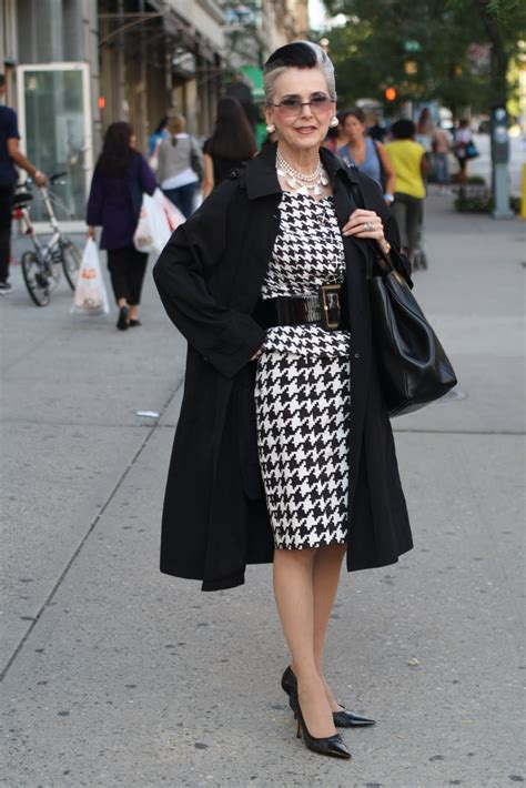 old and stylish beautiful women advanced style