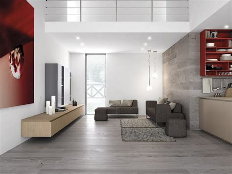 Living Room And Kitchen Flooring Dynamic Minimalist Kitchen Sizzles With Flaming Accents