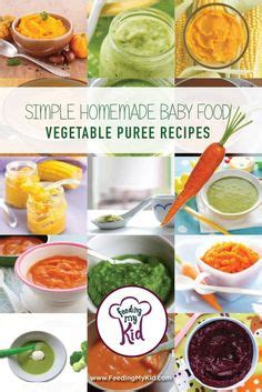 vegetables 6 months 6 vegetable puree for 6 months baby stage 1