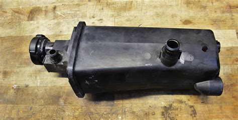 Bmw Expansion Tank by E46 3 Series Aluminum Expansion Tank Part 1 Stock Tank