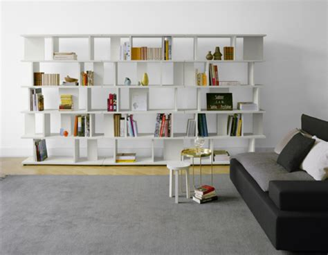 white book shelf for living room design bookmark 2780
