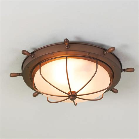 nautical flush mount ceiling light nautical ceiling light neiltortorella com