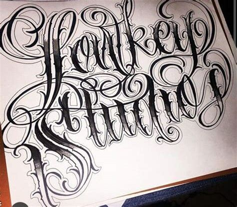 tutorial lettering chicano chicano and letters on pinterest