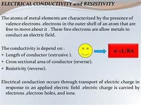 cross sectional area of conductor metallic conductor