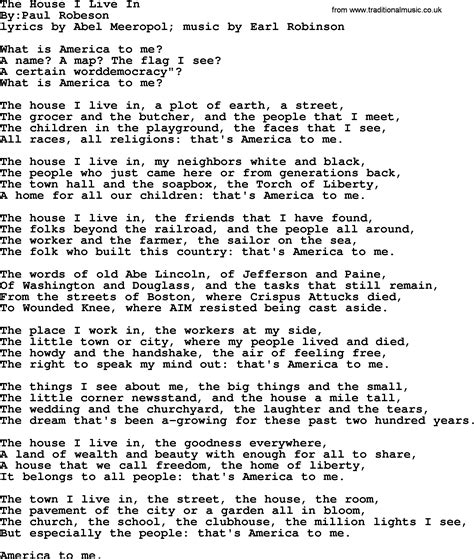 little houses song the house i live in political solidarity workers or