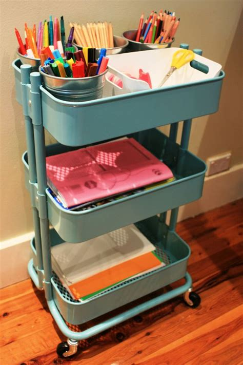 ikea craft cart homework station ikea and homework on pinterest
